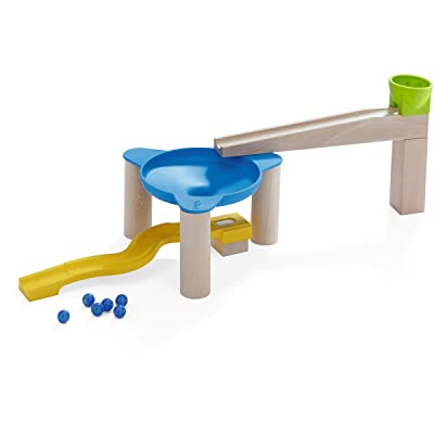HABA Ball Track Circle Drift Add-On Set - Marble Ball Track Accessory (Made in Germany): Toys & Games