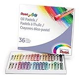 Pentel PHN-36 Pastels Arts Oil, 36 Color Set