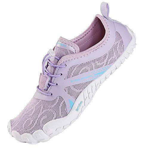 STEELEMENT. Purple Barefoot Minimalist Shoes Zero Drop Trail Runner Sock Toes Gym Sneakers Yoga Shoes 7 US 98-purple-37