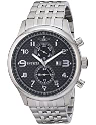 Invicta Mens 0369 II Collection Stainless Steel Watch
