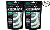 Omega Paw Solutions Dental Ring Oral Care Dog Chew, Small, 6 Ct (DRSMS) - Pack of 2