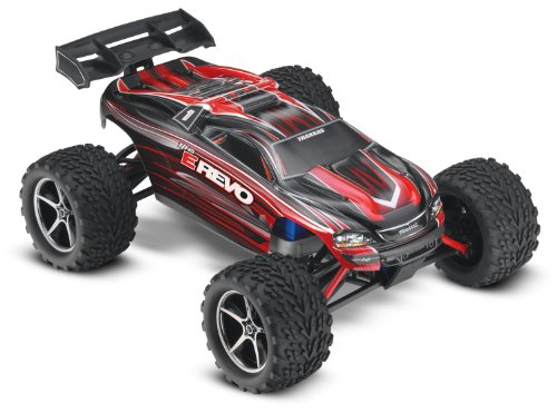 Traxxas 71054 E Revo Electric Monster Truck - 1:16 Scale (color may vary)(Discontinued by manufacturer)