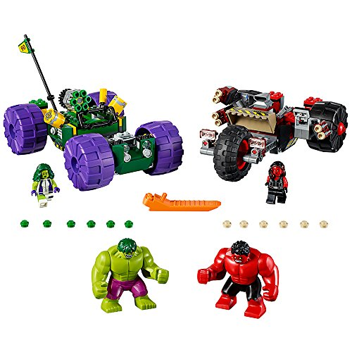 MINIFIGURAS NO INCLUIDAS LEGO SUPER HEROES MARVEL TEAM HULK VEHICLE 76078