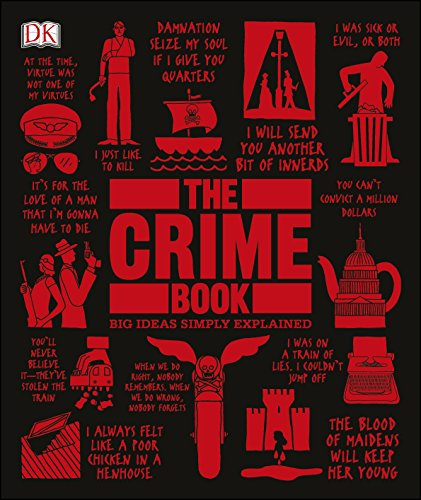 The Crime Book (Big Ideas Simply Explained) cover