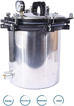 Cxp Boutiques Autoclave m/édical /à Hautes temp/ératures de st/érilisation de Vapeur de Pot de st/érilisation dacier Inoxydable dexp/érience de Pot de st/érilisation dacier Inoxydable