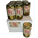 Brooklyn Brine Pickles- New York City Deli Style- Cased Packed 24 oz (12 Pack)