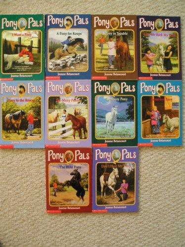 Pony Pals Set 1-10 (I Want a Pony~A Pony For Keeps~A Pony in Trouble~Give Me Back My Pony~Too Many Ponies~Runaway Pony~Good-bye Pony~Wild Pony~Don't Hurt My Pony) Too Many Ponies