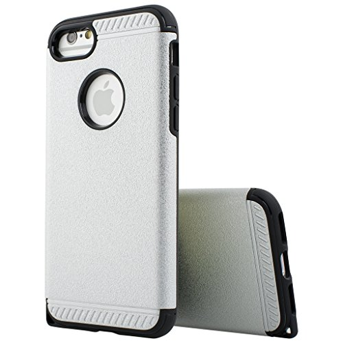 Best Style Apple iphone 6 Case cover, Designer Case Frame Protective Cover For iPhone 6 (Silver)