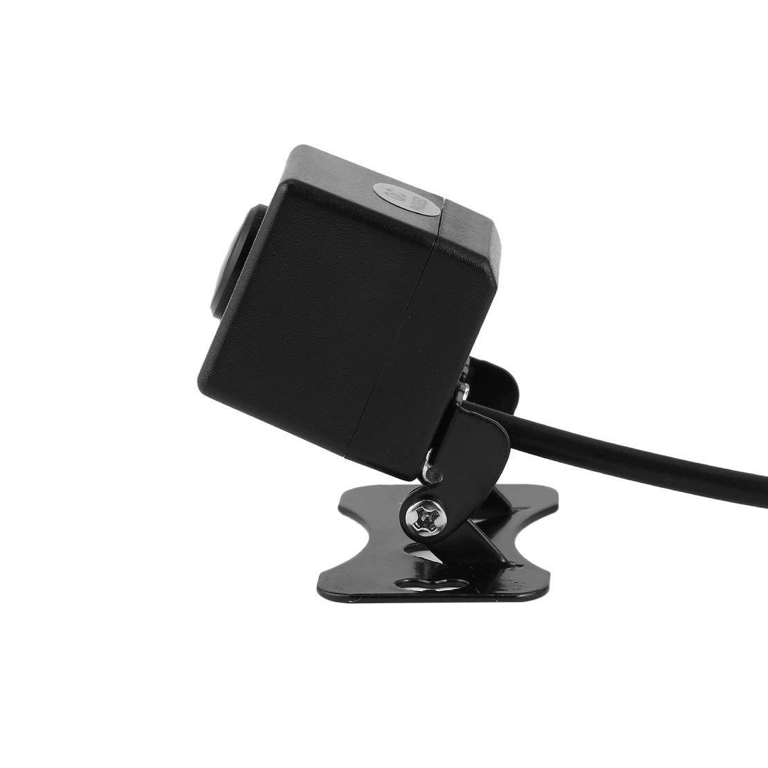 4 LED de la c/ámara de visi/ón Trasera HD Sistema de Aparcamiento de Reserva de autom/óvil Resistente al Agua 12V Kit de Ayuda de Marcha atr/ás del Coche con Monitor Plegable
