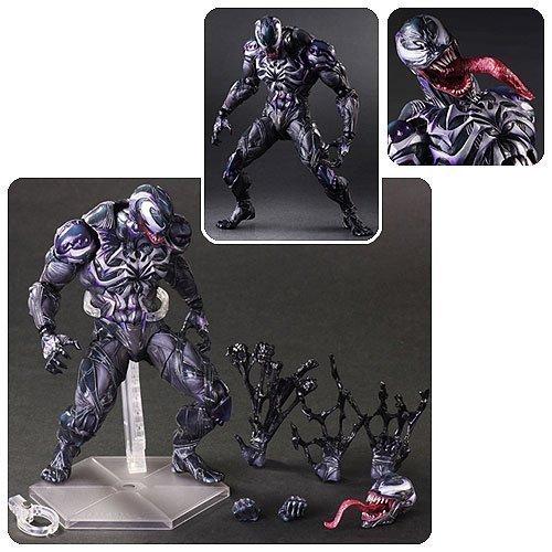 (Marvel Universe Venom Variant Play Arts Kai Action Figure)
