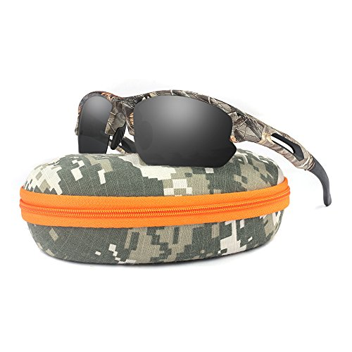 Camouflage Polarized Sports Sunglasses for men Unbreakable TR90 Cycling Glasses