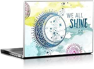 Shineon Design Matte Laptop Skin for 17.6 inch Laptops