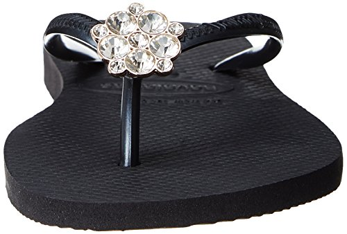 Slim Crystal Black Flop Havaianas Flip Grey Dark Women's Poem TqnZF5