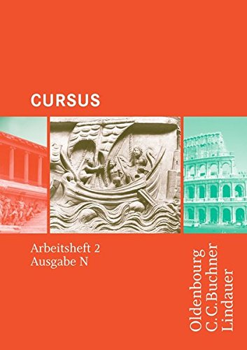 Cursus - Ausgabe N, Latein als 2. Fremdsprache: Arbeitsheft 2