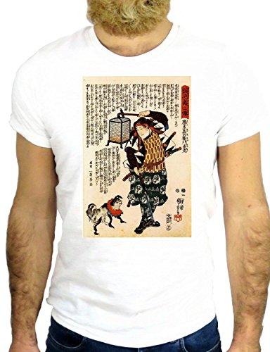 T SHIRT JODE Z1833 JAPAN MANGA CARTOON LADY FUNNY COOL FASHION NICE GGG24 BIANCA - WHITE L