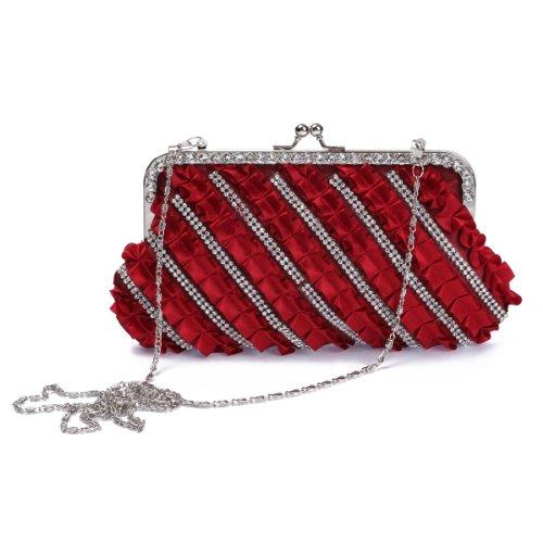 Damara - Bolso al hombro para mujer Medium rojo - rojo