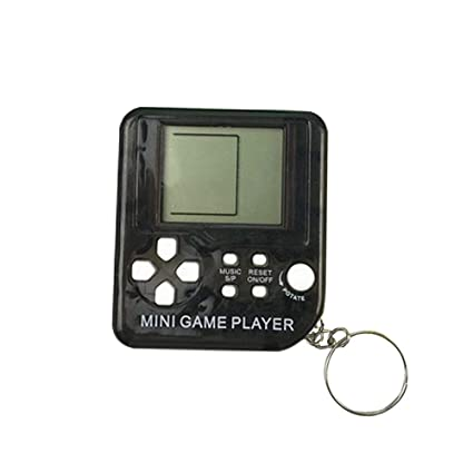 Toys & Hobbies Portable Mini Tetris Game Console Keychain Lcd Handheld Game Players Children Educational Electronic Toys Anti-stress Keychain