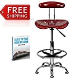 Tractor Seat Bar Stools Drafting Chairs Counter Height Contemporary Designer Kitchen Breakfast Bar Stools With Backs Furniture Adjustable And eBook By NAKSHOP