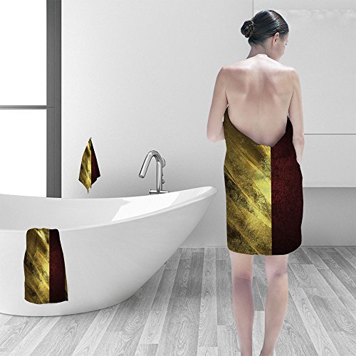 Nalahomeqq Hand towel set Abstract golden texture red ribbon Element for design Template for design copy space for ad brochure or announcement invitation abstract background