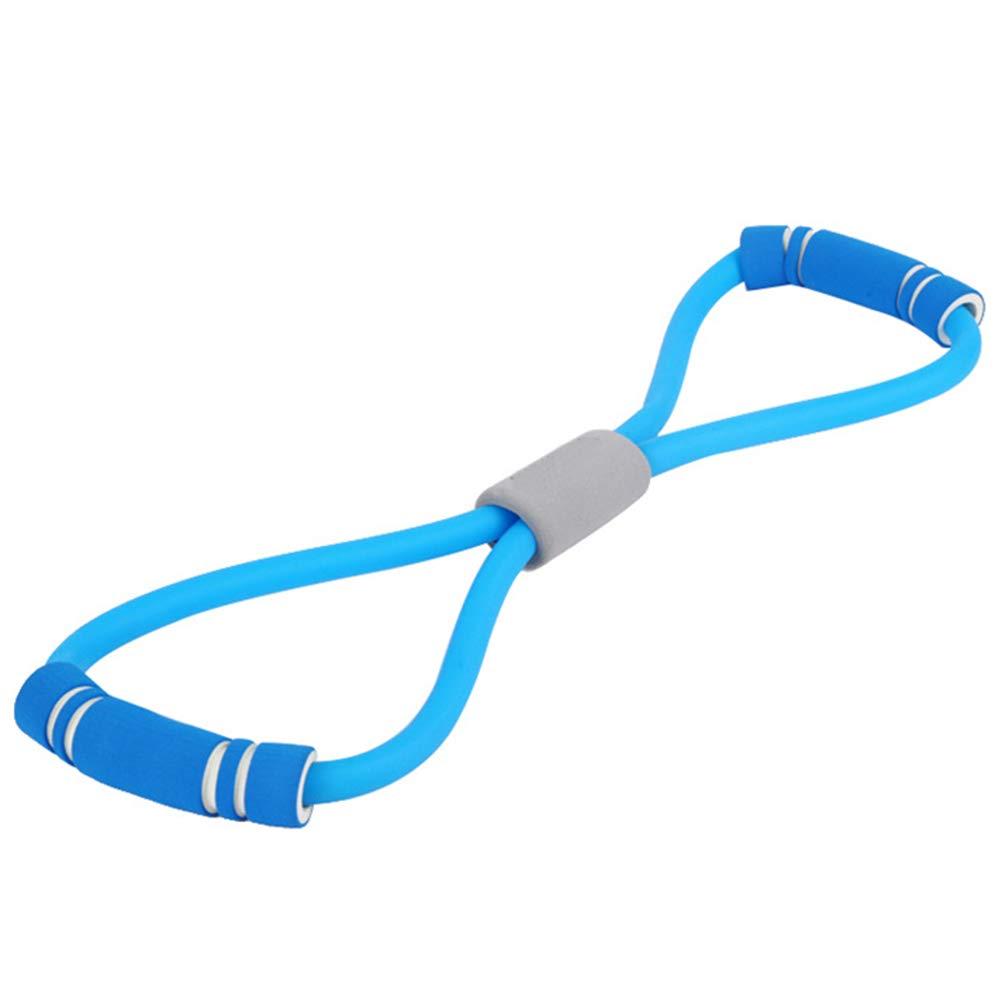 Leikance Sport Fitness Tension Corda Yoga 8 Forma Pull Rope Tubo Attrezzatura Strumento Casa Palestra Esercizio Rally