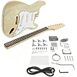 strat stratocaster style gitarre bausatz eschenholz body 21 b nde bolt on neck kit st. Black Bedroom Furniture Sets. Home Design Ideas
