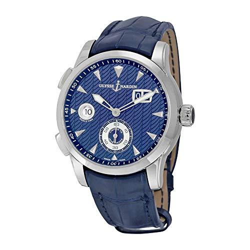 Ulysse Nardin Dual Time Automatic Blue Dial Men's Watch 3343-126LE-93 ()
