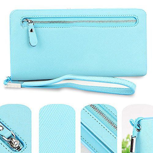 Handtasche, elegant A - Rose A - Bleu clair
