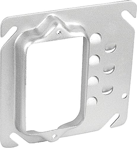 One Gang Square Drawn 5/8 Inch Raised Offset Device Ring by Garvin Industries
