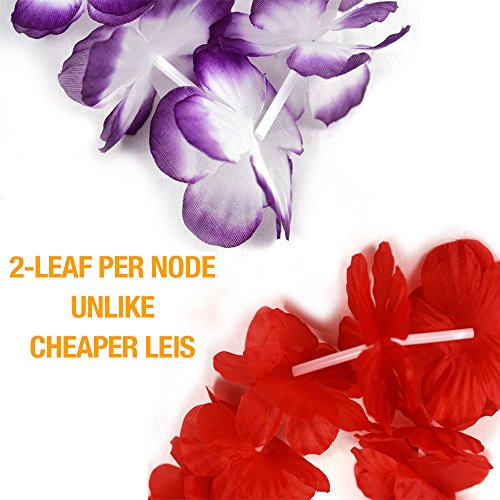 Luau-Party-Supplies-40-Hawaiian-Leis-Party-Favors-Leis-Flowers-Luau-Decorations-by-NimNik