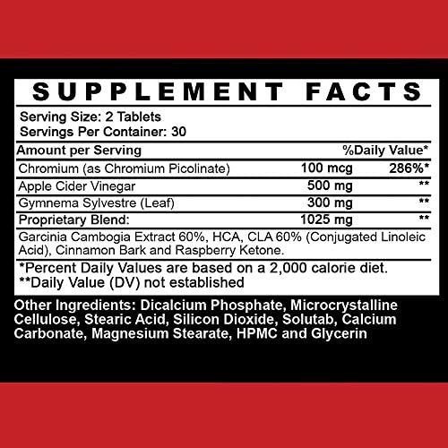 Angry Supplements Apple Cider Vinegar Pills for Weight Loss - Natural Detox Remedy Includes Gymnema, Cinnamon, CLAS, and Garcinia for Complete Diet and Health - Starter Kit or Gift (6-Bottles) 7