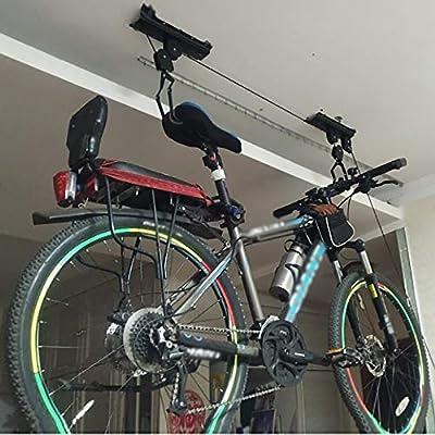 WhalePrime - Elevador de bicicleta para almacenamiento en techo de ...