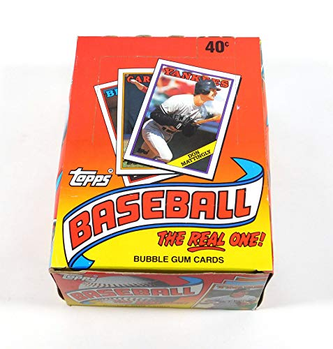 1988 Topps Baseball Box (36 packs) Possible Bonds Glavine