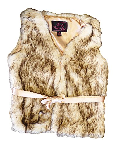 Lilly Patricia Crystal Fox Faux Fur Vest