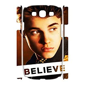Justin Bieber Personalized 3D Cover Case for Samsung Galaxy S3 I9300,customized phone case ygtg-700740