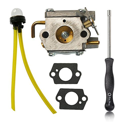 HIFROM Carburetor with Adjustment Tool Kit Screwdriver for Walbro WT-827 WT-827-1 WT-149A WT-275 WT-340-1 WT-454 WT-539 WT-539-1 WT-685 Carb Ryan Ryobi Trimmers by HIFROM