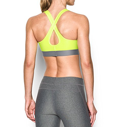 Under Armour Women's Armour Crossback Mid Sports Bra, X-Ray (786)/X-Ray, Small