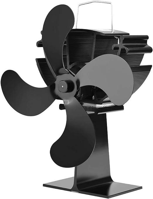 Luyao Ventilador de energía térmica para ventilador de chimenea de ...