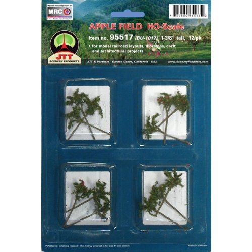 JTT Scenery Products Flowering Plants Series: Apple Saplings, 1-3/8