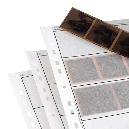 Hama Archival Negative Glassine Sheets Sleeves for 35mm Films - 100pcs by ICShopToday