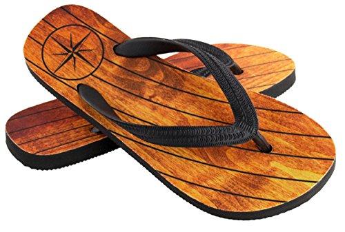 Bootsschuhe für Herren in braun, Teak Deck - Segelschuhe von palupas