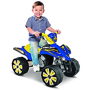 Kid-Motorz-Xtreme-Quad-6V-Vehicle-Blue-Yellow