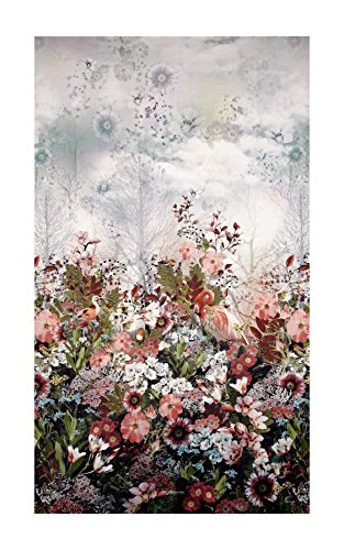 (RJR Fashion Fabrics 0531118 Reverie Digital Dreamscape Panel Multi, Multicolor)