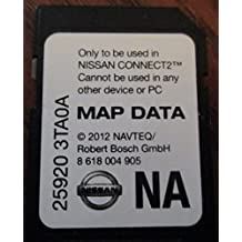 3TA0A 2013 NISSAN CONNECT SD CARD , NAVIGATION GPS MAP DATA , NAVTEQ , NA/NORTH AMERICA US CANADA 25920-3TA0A ,FOR 2013 SENTRA ALTIMA SEDAN XTERRA TITAN NV200 FRONTIER NV1500 NV2500 NV3500
