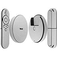 Skinomi TechSkin - Google Nexus Player Brushed Aluminum Full Body Skin Protector / Front & Back Wrap / Premium HD Clear Film / Ultra Invisible and Anti-Bubble Shield