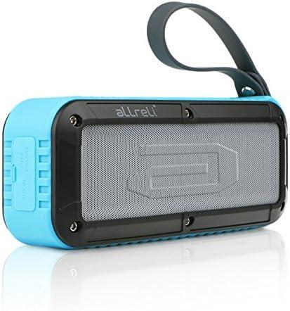 aLLreLi 10W Altavoz Bluetooth con 8 Horas para Huawei, XiaoMi, Samsung, Nexus, HTC, iPhone y iPad, etc. - Azul: Amazon.es: Electrónica