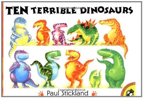 Ten Terrible Dinosaurs (Picture Puffins) by Stickland, Paul (unknown Edition) [Paperback(2000)]