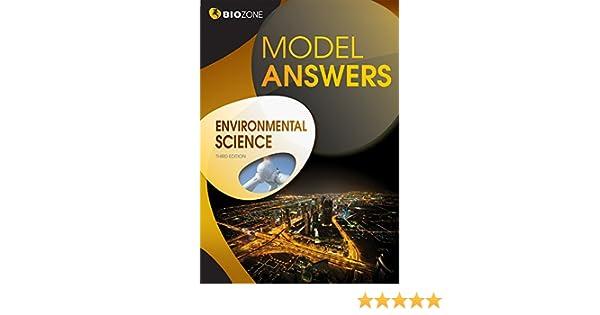 Environmental Science Model Answers Lissa Bainbridge Smith