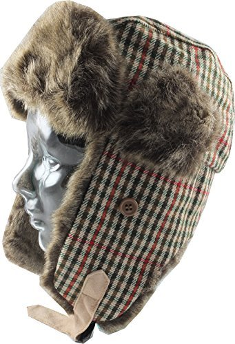 Tweed Chaos Brothers Big Girls Country Style Trapper//Hunter Hat