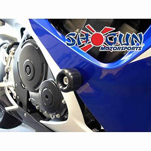 MADE IN THE USA 2006-2007 Suzuki GSXR750 Black Frame Sliders 2006-2007 Suzuki GSXR600 750-5429