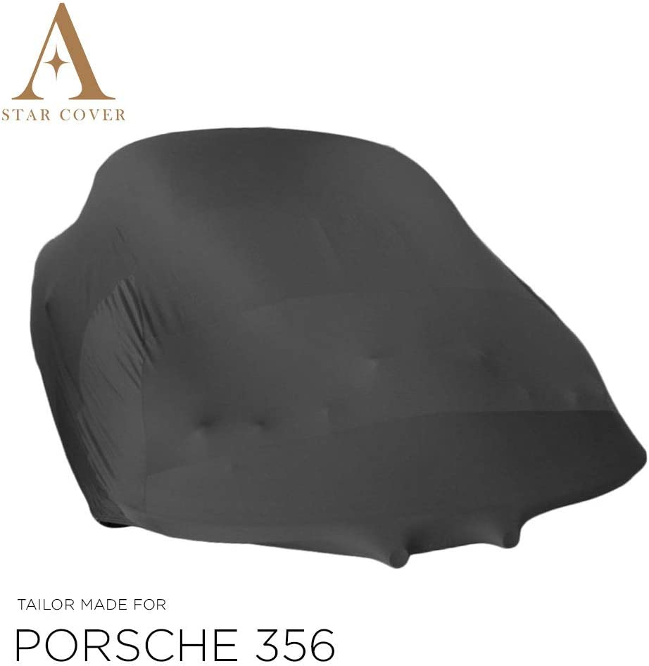 Black GARAGECOVER Indoor CARCOVER FITS Porsche 356 Speedster Bespoke Perfect FIT /& Tailor Made Cover